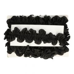 Ruffled ribbon 60mm - 10m