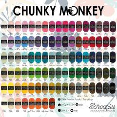 Scheepjes Chunky Monkey assortment 5x100g - 93 colours - 1pc