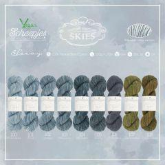 Scheepjes Skies Heavy assortment 5x100g - 9 colours - 1pc