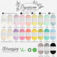 Scheepjes Organicon assortment 5x50g - 21 colours - 1pc