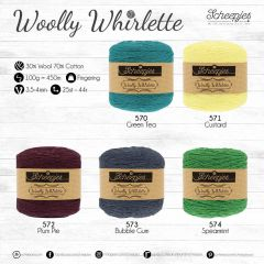 Scheepjes Woolly Whirlette assortment 5x100g - 5 col. - 1pc