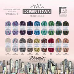 Scheepjes Downtown assortment 5x50g - 18 colours - 1pc