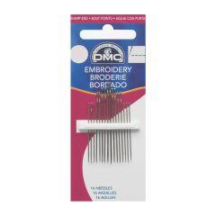 DMC Embroidery needles no.01-10 - 12x12pcs