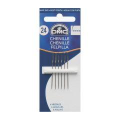 DMC Chenille needles no.24 - 12x6pcs