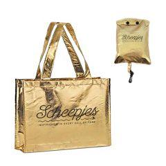 Scheepjes Foldable bag gold 46x37cm - 10pcs