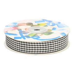 Gingham ribbon 20mm - 25m