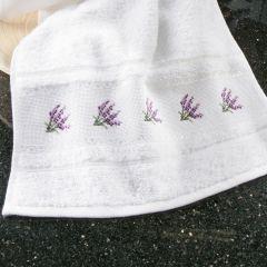 Simy's Studio Guest towel 30x50cm white - 1pc