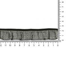 Ruffle ribbon 24mm - 25m