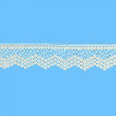 Chemical lace trim 70mm - 13m - 009