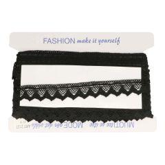 Bobbin lace with Satin Ribbon 25mm - 25m