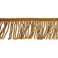 Fringe lurex trim 70mm gold - 25m