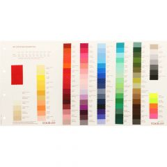 Colour sample card satin luxe - 1pc