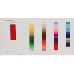 Colour sample card grosgrain ribbon - 1pc