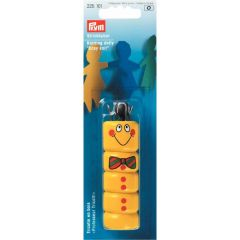 Prym Knitting dolly yellow - 5pcs