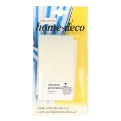 Vlieseline Curtain tape 60-70m white - 5x5m