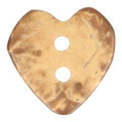 """Wooden Button Heart 20"""", 24"""", 28"""" - 50pcs"""