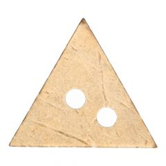 Coconut buttons triangle - 25 or 30pcs