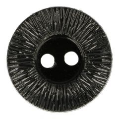 "Button ribbed rim black 40""- 70""  -  40pcs"