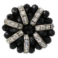 Hand-made Diamond button mt.64  -  10pcs