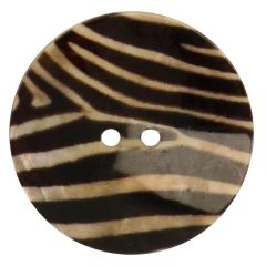 Button mother-of-pearl print size 54 - 33.75mm - 30pcs
