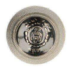 """Button emblem with metal rim 24"""" - 40"""" - 50pcs"""