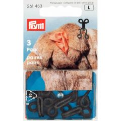 Prym Fur hooks and eyes - 5x3pcs