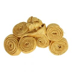 Chinese button rolls small 5cm - 12pcs - Gold