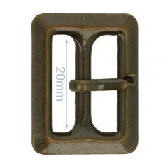 Buckle metal 20mm - 6pcs