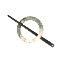 Shawl Pin Mother-of-Pearl 50-65mm - 10pcs