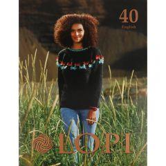 Lopi Book no.40 English - 1pc