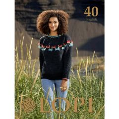 Lopi Book no.40 English - 1pc