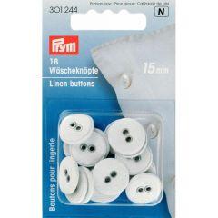 Prym Linen Buttons 15-18mm - 5pcs.  N