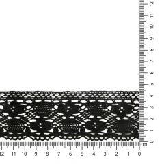 Lace trim cotton 45mm - 25m