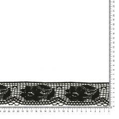 Lace trim cotton 60mm - 25m