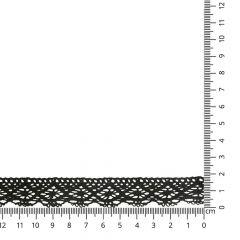 Lace trim cotton 20mm - 25m