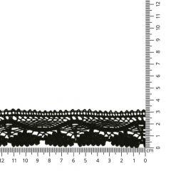 Lace trim cotton 30mm - 25m