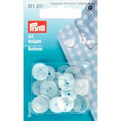 Prym Pyjama Buttons plastic mother-of-pearl im. 13-20mm -5p. G