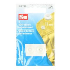 Prym Instant buttons self-adhesive 11mm - 5pcs.