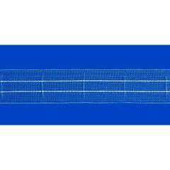 Antex Bandex Iris curtain tape shir.-loop 22mm trans. - 100m