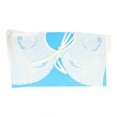 Collar 37 cm - white