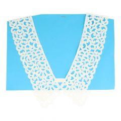 Collar 74/94 cm - white