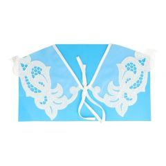 Collar 58 cm - white