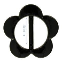 Decorative buckle flower 30mm - 8pcs