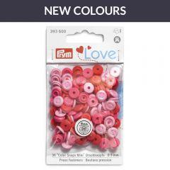 Prym Love press fasteners 9mm - 3x36pcs