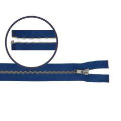 Zipper open-end small 70cm nickel - 5pcs