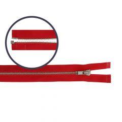 Zipper open-end small 40cm nickel - 5pcs