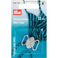 Prym Bikini and belt clasp ST cloverleaf 12mm silv./gold -5pcs. K