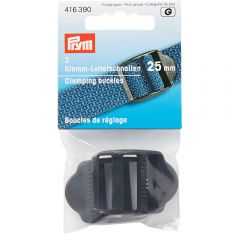 Prym Clamping buckles plastic 25-50mm black - 5x2pcs