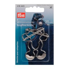 Prym Dungaress buckles 35mm silver - 5x2pcs