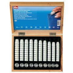 Prym Thimble zinc die-cast 14-18 mm ass. SIL 100pcs - 1p.